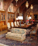 MPF CONSERVATION HEARST CASTLE FLEMISH SOFA