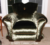 MPF Conservation French Deco Chairs
