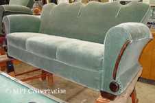 French Deco sofa