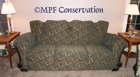 MPF Conservation French Deco sofa