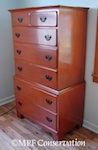 American Chippendale Revival Bedroom Set Restoration