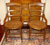 EASTLAKE CHAIRS RESTORED MPF CONSERVATION