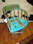 Kate Powell's Surfer Gurl Chair