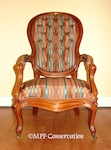 American Southern Yellow Pine Hoopback Armchair